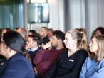 Gespannt zuhörende Teilnehmer der SWISS KRONO-Architektenveranstaltung
