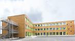 In Nürnberg lernen Kinder in einer Interimsschule aus Holzbaumodulen