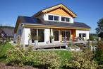 Einfamilienhaus in Massivbauweise mit SWISS KRONO MAGNUMBOARD® OSB-System – erfüllt alle Anforderungen auch in puncto Schallschutz.