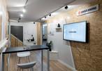 SWISS KRONO MAGNUMBOARD® OSB-Pavillon: Präsentation von Möglichkeiten des Innenausbaus und der Raumgestaltung mit SWISS KRONO Holzwerkstoffen