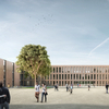 Europe's largest school in wood modular design