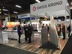 Le stand de SWISS KRONO au salon SURFACE 2017 à Las Vegas