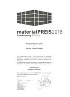 """materialPREIS2018: Anerkennung für SWISS KRONO MAGNUMBOARD® OSB in der Kategorie """"Ökologie"""""""