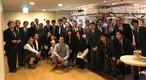 Bayerisches Essen im Kaiserhof in Tokio mit den OSB-Kunden von SWISS KRONO Deutschland.