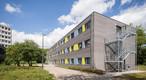 In Nordrhein-Westfalen entstand ein temporäres Verwaltungsgebäude in Holzbauweise