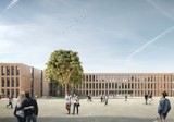 Designs for the new school building