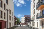 Ein Blick in die Innenhöfe des Quartier WIR