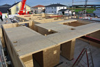 Massiver Holzbau mit SWISS KRONO <strong>MAGNUM</strong>BOARD® OSB