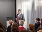 Thomas Wehrle sprach über Digitalisierung im Holzbau