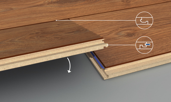 Strong Joints Also In Thicker Laminate Floors Swiss Krono