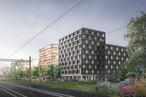2018 ist das 10-geschossiges Bürogebäude in Risch-Rotkreuz das erste Holzhochhaus der Schweiz